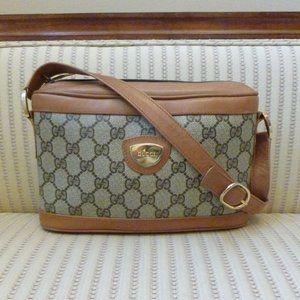 Gucci GG Web Supreme Camera Shoulder Bag